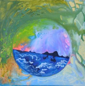 Summer, Acrylics on Canvas by Sonia Domenech