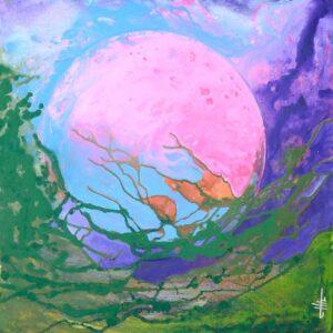 Spring, Acrylics on Canvas, Sonia Domenech