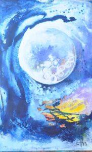 Moon Bath, by Sonia Domenech
