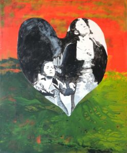 The Escape, Acrylics on Canvas