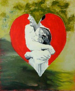 The Wait, Acrylics on Canvas