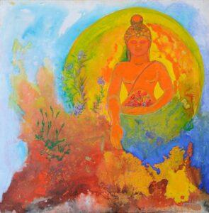 Mediterranean Buddha by S. Domemech
