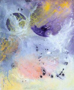Nova, Acrylic on Canvas, Domenech