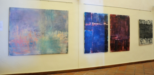 Three Works by Katrin Schwindenhammer (left)