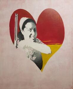 Mujeres guerrilleras (Guerrilla women) II, Acrylic on canvas