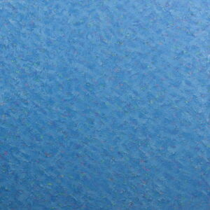 suprematic, blue square impasto