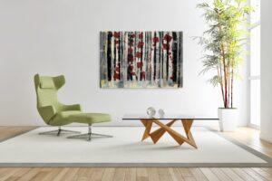 72 (It's Curtains), 2021 Acrylic on Canvas